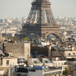 View over paris — Stock Photo