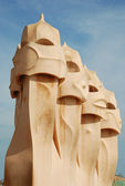 Casa Mila - Barcelona — Stock Photo