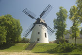 Windmill Podersdorf — Stock Photo