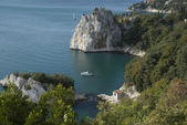 Coast of italy near triest — Foto Stock