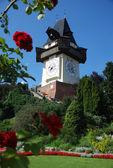 Orientační bod graz, rakousko — Stock fotografie