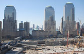 Ground zero - new york — Stock Photo