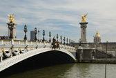 Pont alexandre III - paris — Stock Photo