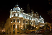 Valencia by night — Stock Photo