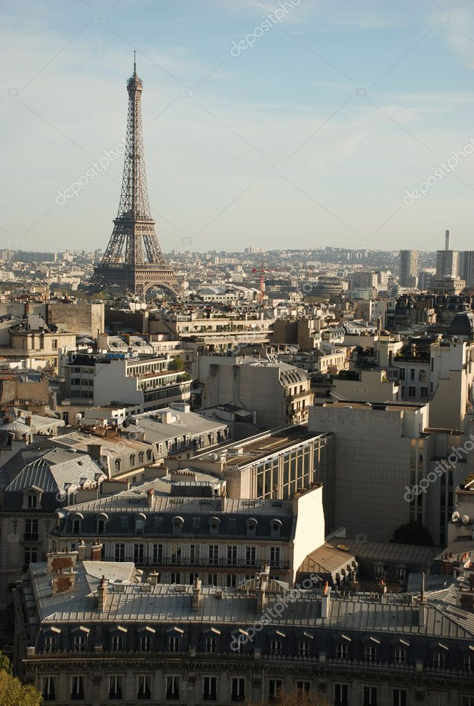 View over paris — Stock Photo #5834346
