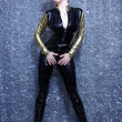Catsuit for Christmas - Stockfoto