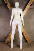 Latex Rubber Catsuit — Stock Photo