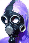GasMask Portrait — Stock Photo