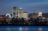 Montreal at night — Stock Photo