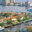 Lauderdale Condo view - Stock Photo