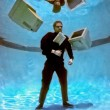 Businessman in over his head Part 2 — Stock Photo #5940438