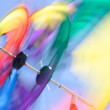 Stock Photo: Kite Colors