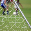 Stock Photo: Soccer net
