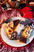 Festive Dessert — Stock Photo