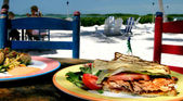 Islamorada Lunch — Stock Photo