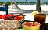 Tropical snacks — Stock Photo