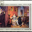 Postal stamp. The legible bride, 1847. — Stock Photo