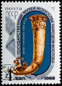 Postal stamp. Goblet, 1969 — Stock Photo