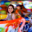 Carousel Fun - Stock Photo