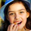 Cookie Girl - Stock Photo