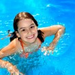 Pool Girl - Stock Photo