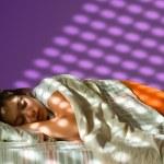 Sleeping girl — Stock Photo