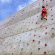 Wall Climbing — Stock Photo