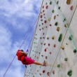 Wall Climbing — Stock Photo #5873702