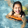 Fun in the Pool — Stock Photo