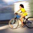Fast bicycle — Stock Photo