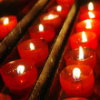 Red Candles — Stockfoto