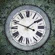 Grungy Clock - Stock Photo