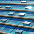 Blue Facade - Stock Photo