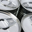 Stock Photo: Canned food