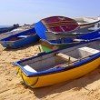 Colorful Rowboats — Stock Photo