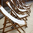 Deckchairs — Stock Photo #5873831