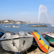 Parking of boats - Stockfoto