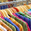 Hanged Shirts - Stock Photo