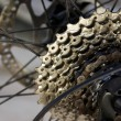 Bicycle gears - Stock Photo