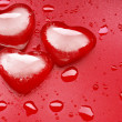 Heart shape ice - 