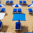 Royalty-Free Stock Photo: Beach Chairs