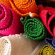 Colorful Rugs - Stockfoto