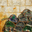 Fishing traps - Stock Photo