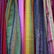 Stock Photo: Colorful Scarfs
