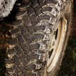 Stock Photo: 4wd tire