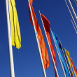 Stock Photo: colorful flags