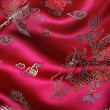 Chinese Fabric — Stock Photo