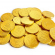 Golden coins - Stock Photo