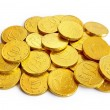 Golden coins — Stock Photo #5874210