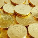 Golden coins — Stock Photo #5874211